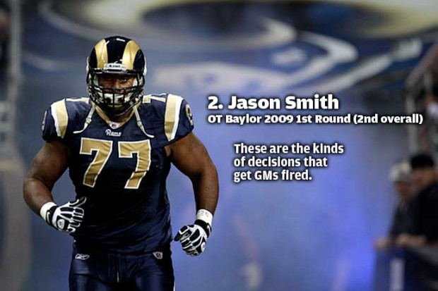 Jason Smith: Honorable Mention (NFL)